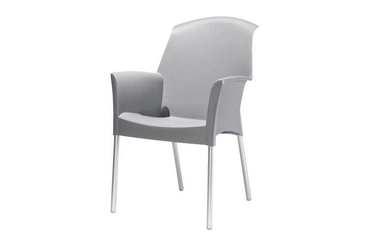 Sillón de diseño Super Jenny gris