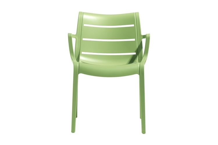 Sillón de diseño verde suset