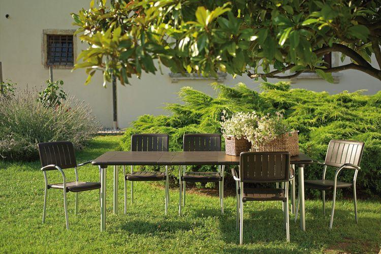Sillón estilo rústico Musa jardín