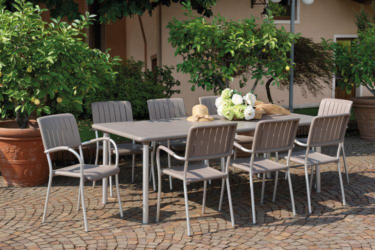 Sillón estilo rústico Musa terraza