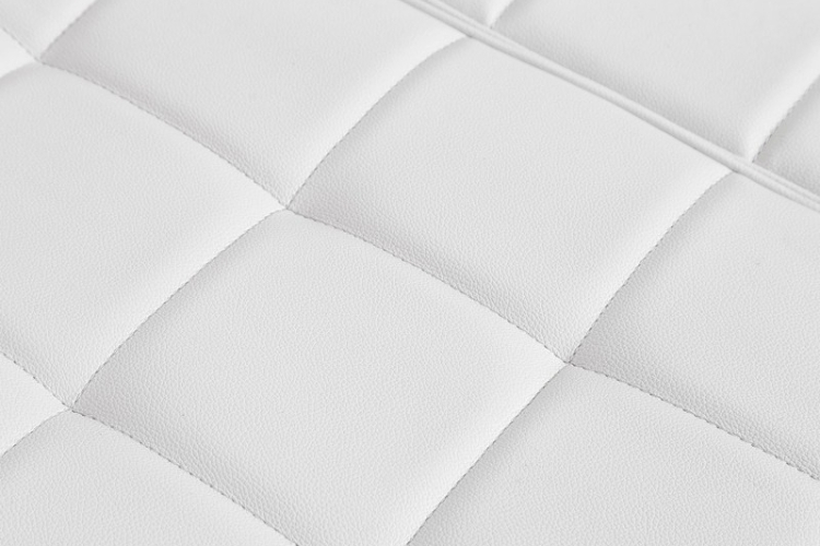Sofá 3 plazas hosteleria Cibeles tapizado blanco