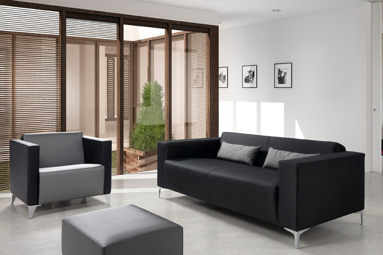 Sofa para hosteleria Clove ambiente recepcion