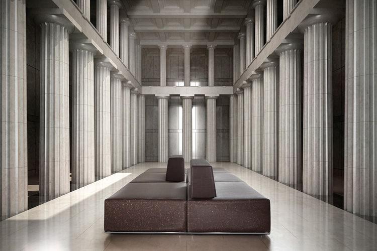 Sofá Cube exposición