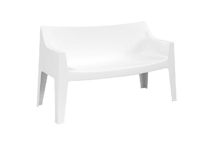 Sofá de diseño Coccolona blanco
