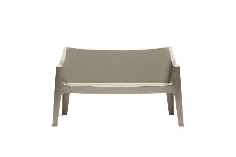 Sofá de diseño Coccolona tortora