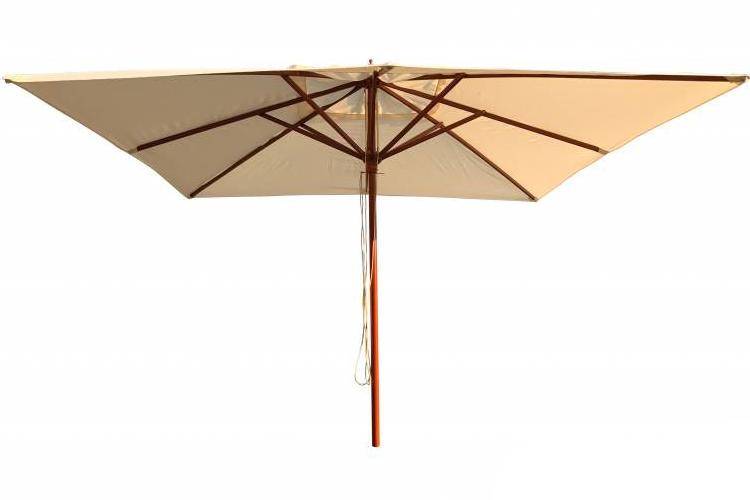 Parasol madera 2x2 m