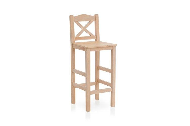 Taburete bar madera 4350