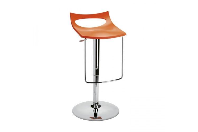 Taburete de diseño Diavoletto U naranja