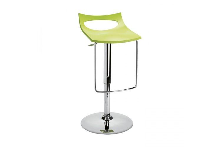 Taburete de diseño Diavoletto U verde