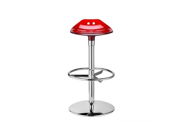 Taburete de diseño Frog Twist rojo