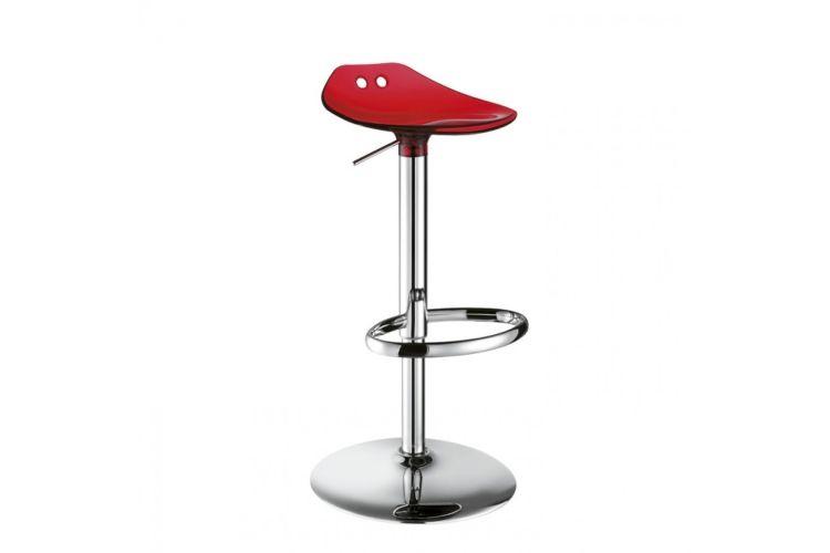 Taburete de diseño Frog Up rojo