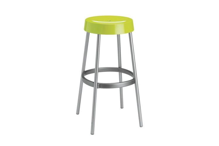 Taburete de diseño Gim verde
