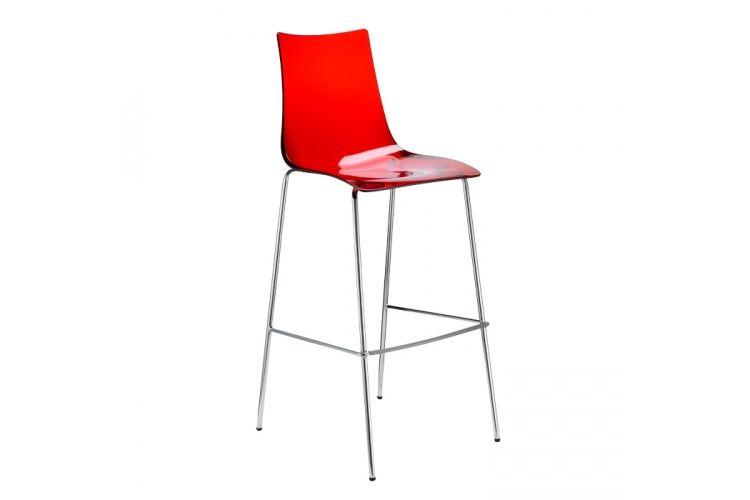 Taburete de diseño Zebra Antishock rojo