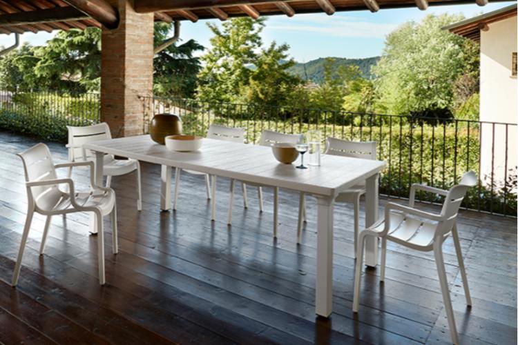 Mesa de diseño per3 terraza