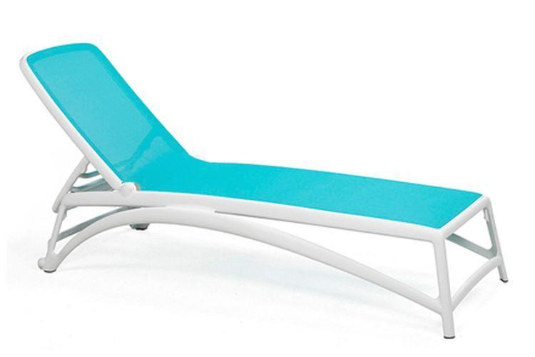 Tumbona de diseño Atlantico azul