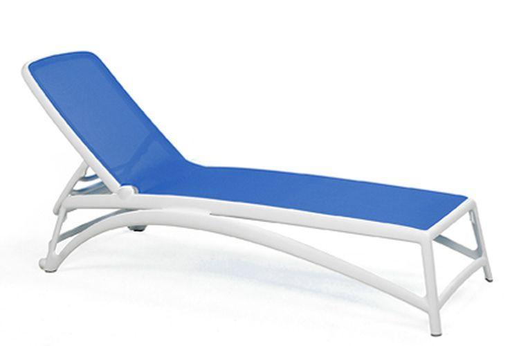 Tumbona de diseño Atlantico azul oscuro