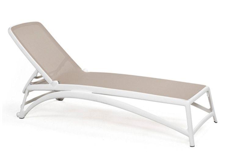 Tumbona de diseño Atlantico beige