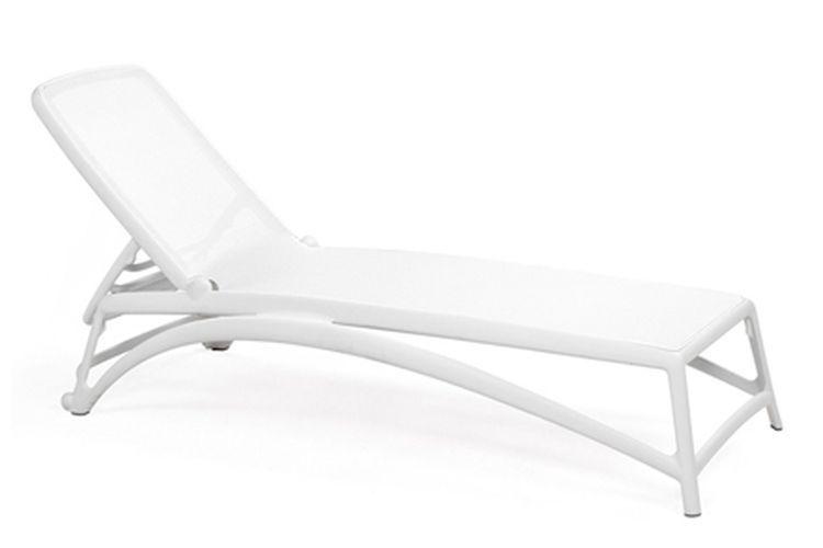 Tumbona de diseño Atlantico blanco