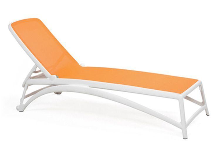 Tumbona de diseño Atlantico naranja