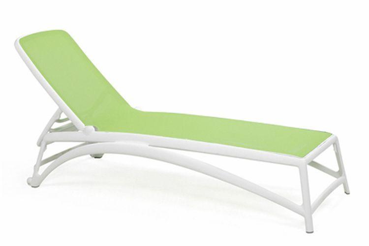 Tumbona de diseño Atlantico verde