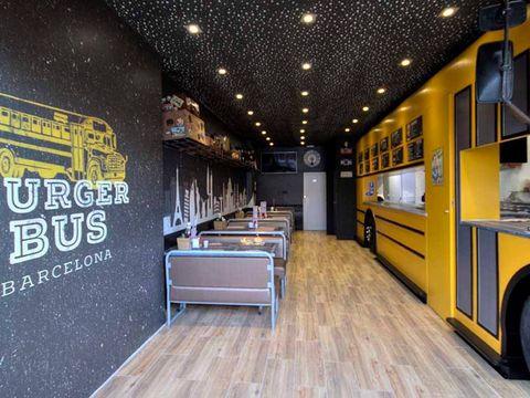 proyecto restaurante burger bus barcelona