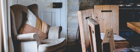 muebles de casa rural