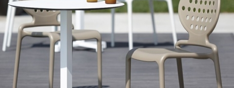 como limpiar sillas de plástico - silla colette