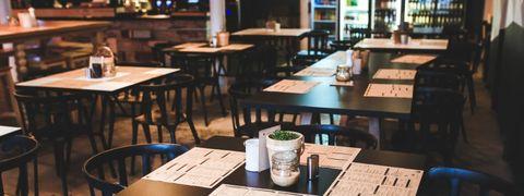 mesa vintage restaurante